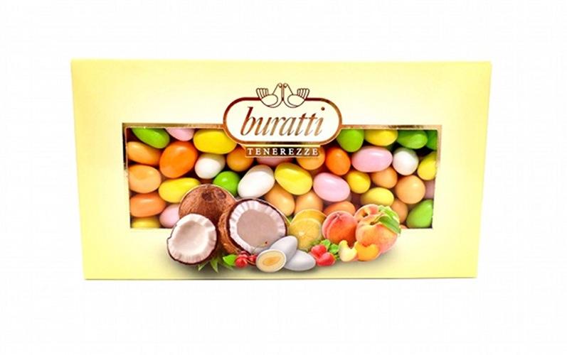 confetti tenerezze misto frutta Buratti vendita online Le Mille e una Mella