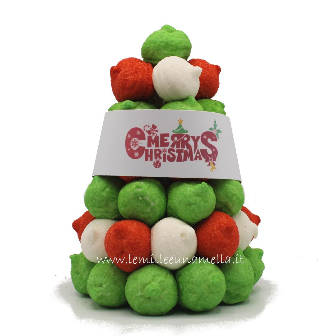 albero di Natale marshmallow vendita online Le Mille e una Mella