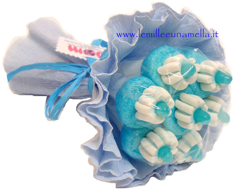 bouquet marshmallow jelly belly vendita online