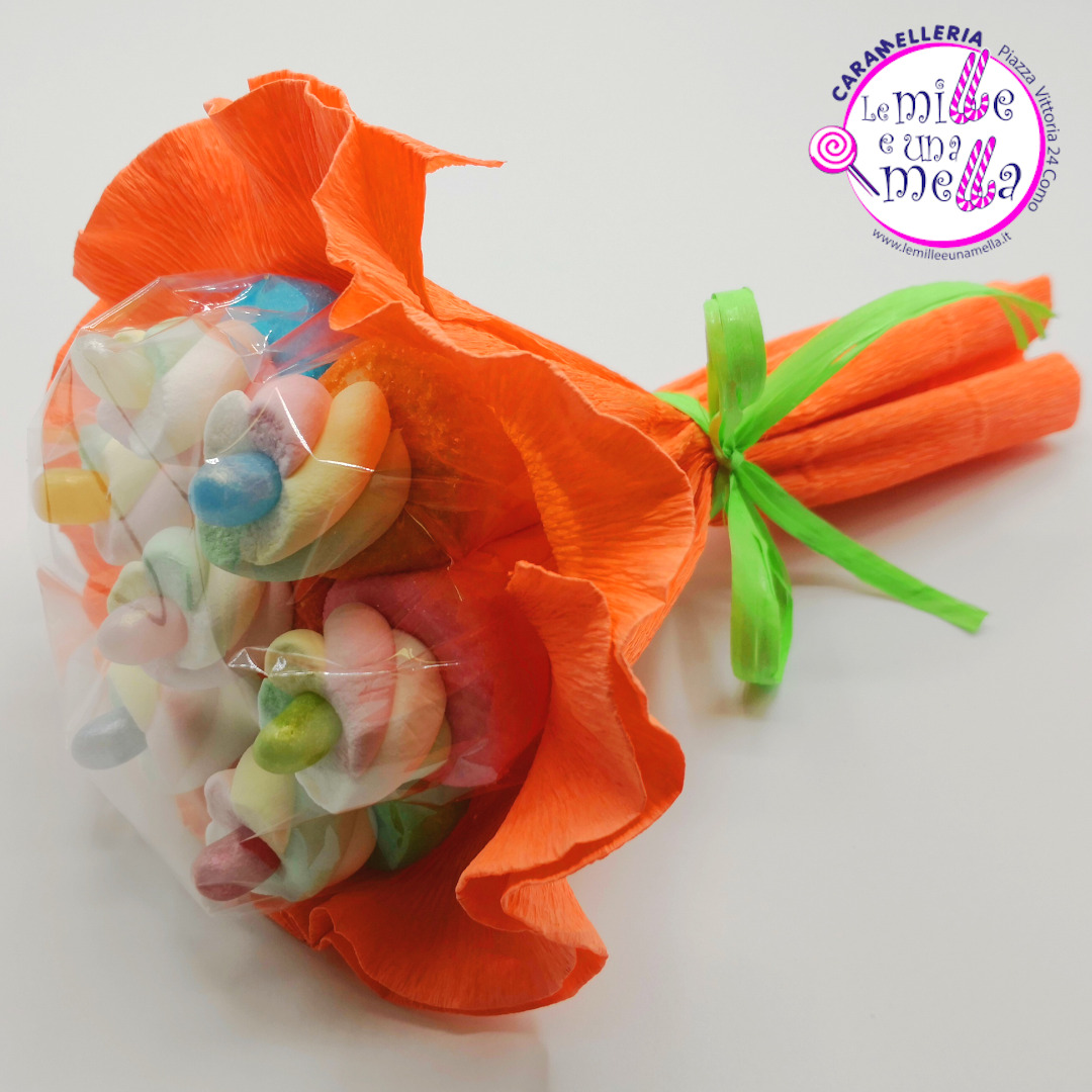 bouquet di caramelle marshmallow jelly belly vendita online