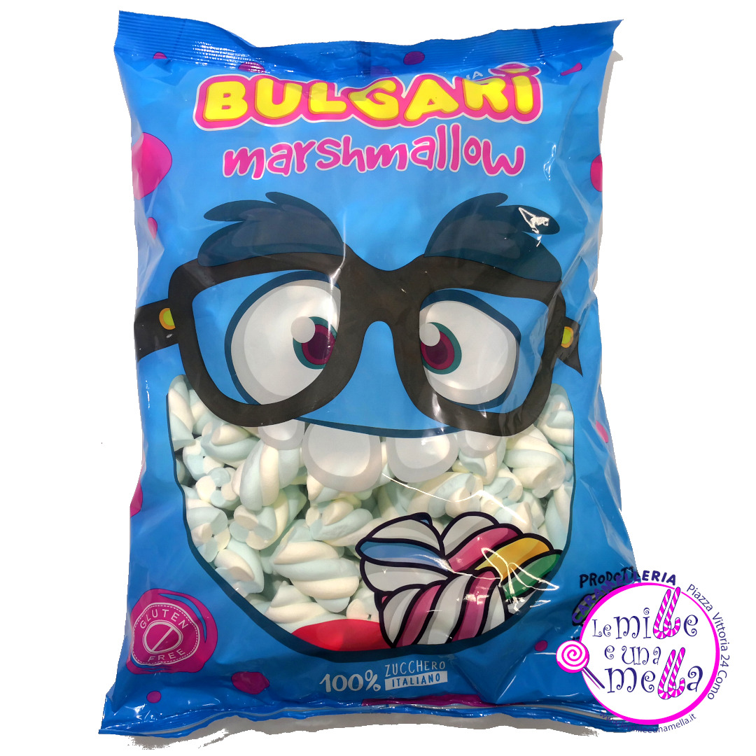 caramelle marshmallow treccia azzurra Bulgari vendita online