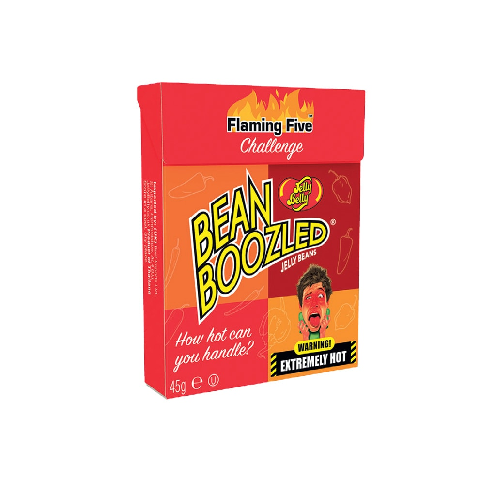 JELLY BELLY FLAMING FIVE PEPERONCINO BEAN BOOZLED VENDITA ONLINE LE MILLE E UNA MELLA