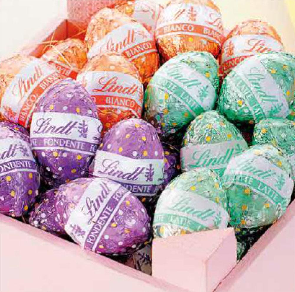 ovetti cioccolato Lindt Pasqua vendita online Le Mille e una Mella