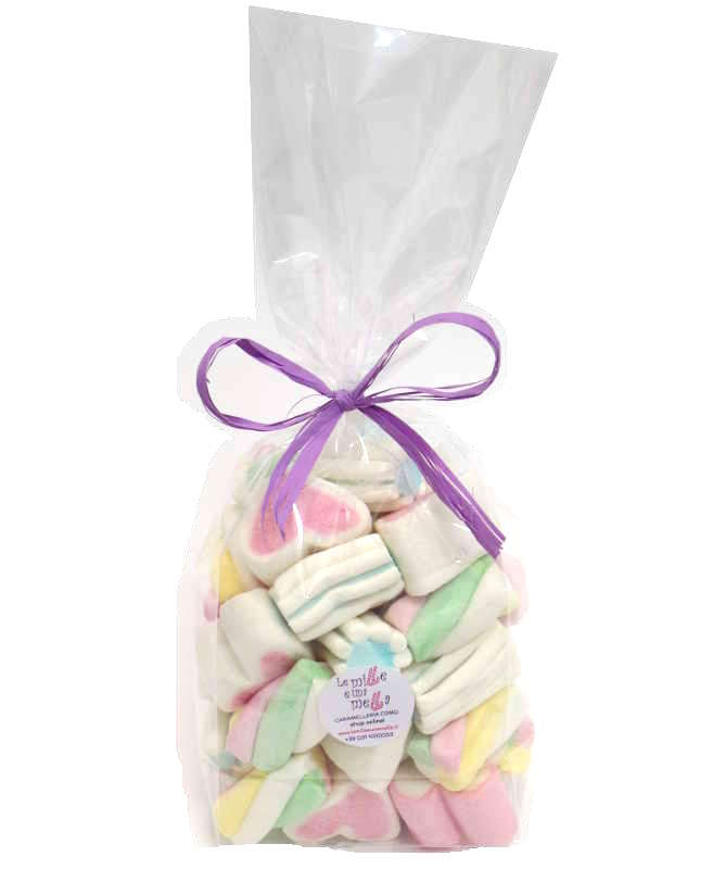 SACCHETTO MARSHMALLOW ASSORTITO 170gr