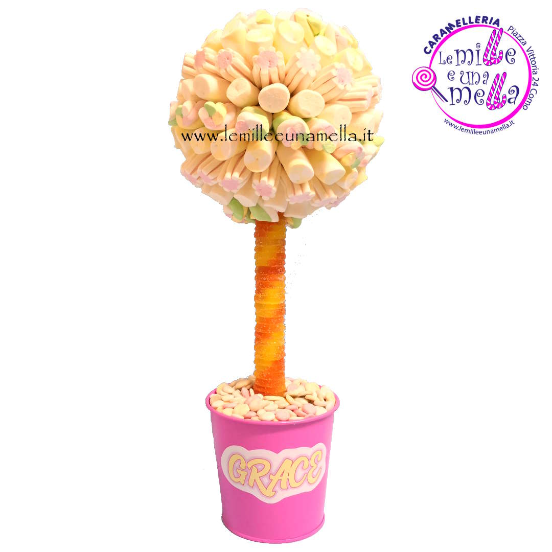 albero di marshmallow con vaso vendita online Le Mille e una Mella