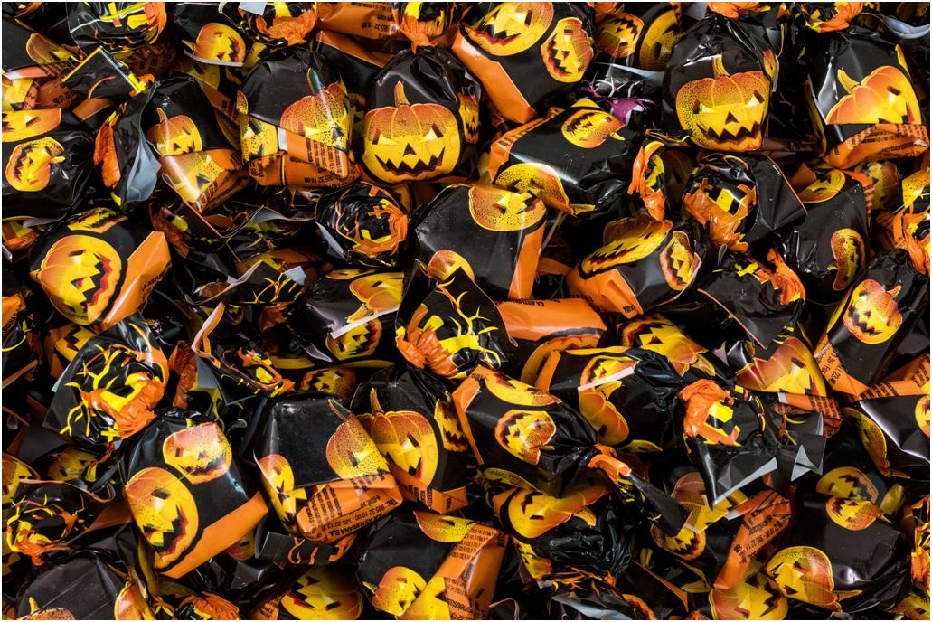 caramelle incartate Halloween Asturiana vendita online Le Mille e una Mella