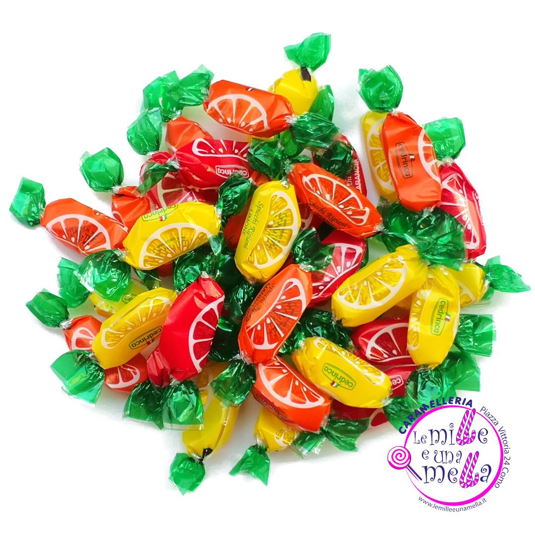 caramelle spicchi ripieni agrumi vendita online
