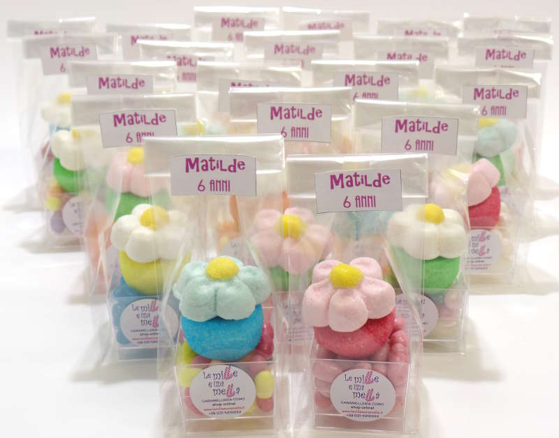 coppetta jelly belly marshmallow margherita fine festa compleanno vendita online Le Mille e una Mella