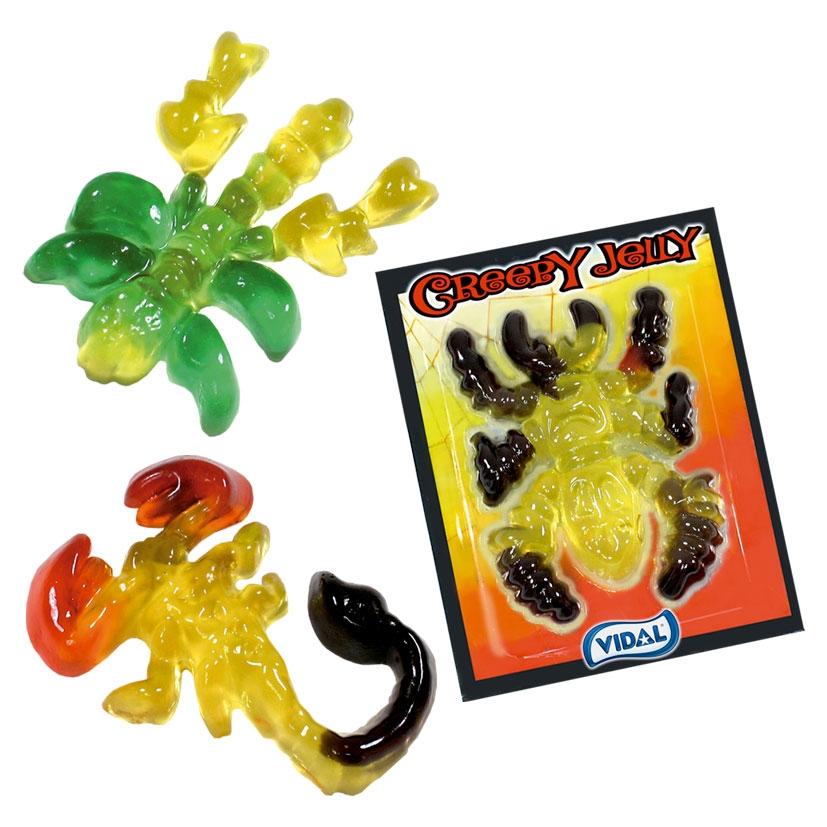 creepy jelly Vidal Halloween vendita online Le Mille e una Mella