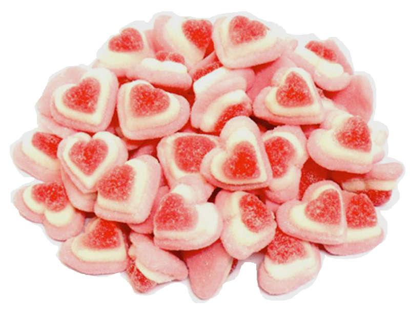 caramelle gommose cuori tricolore Fini vendita online