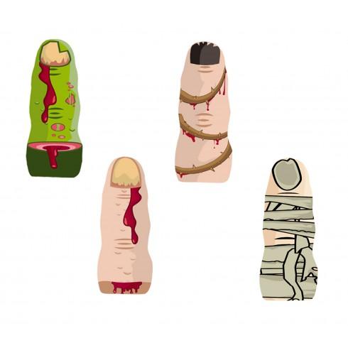 Halloween bloody finger cioccolato vendita online Le Mille e una Mella