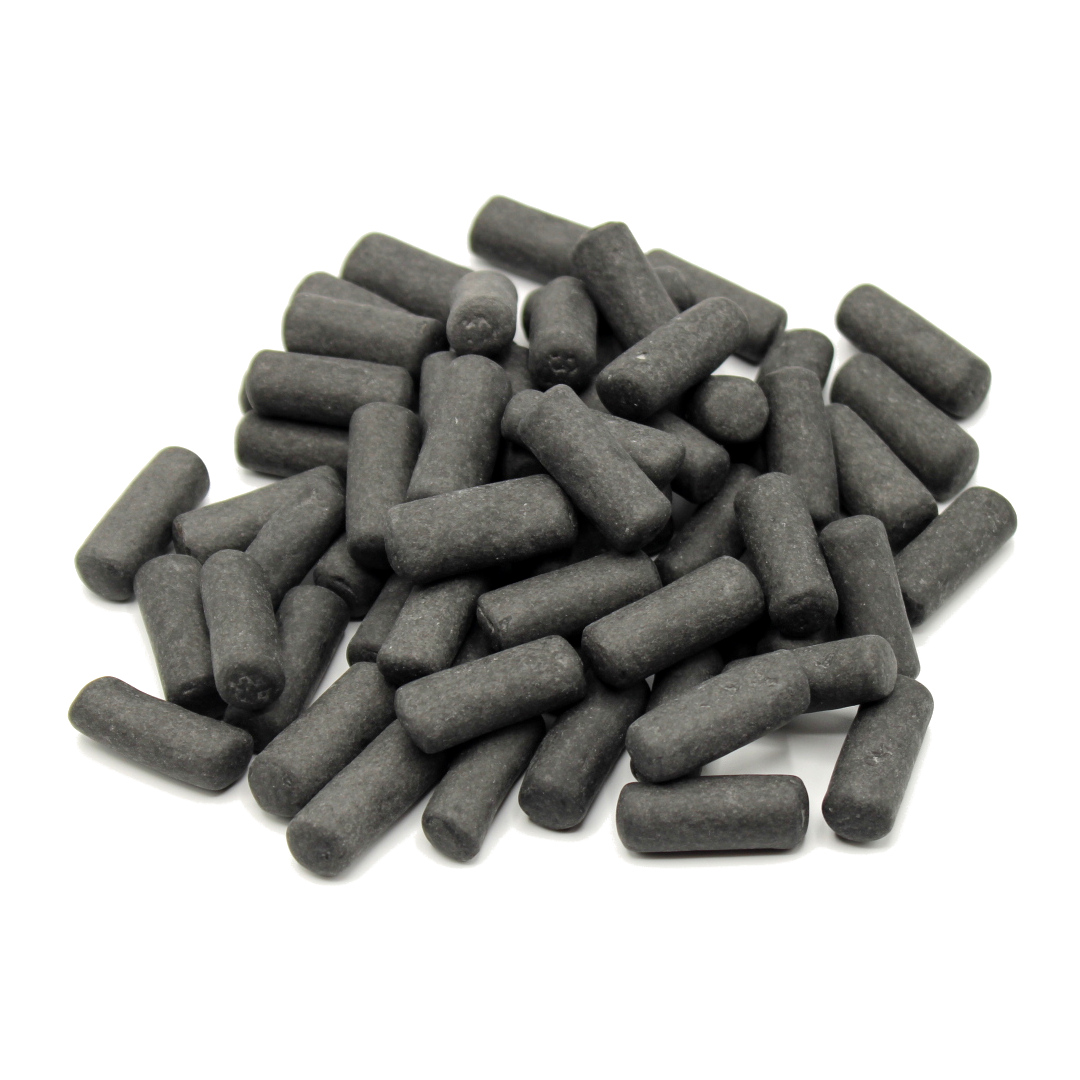 caramelle gessetti neri di liquirizia vendita online Le Mille e una Mella