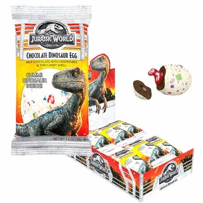 JURASSIC WORLD CHOCOLATE DINOSAUR EGG
