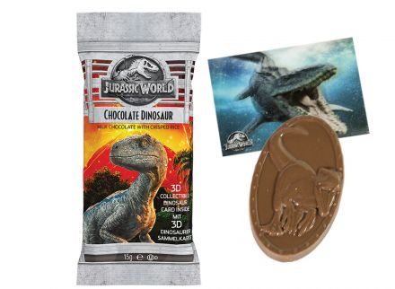 JURASSIC WORLD CHOCOLATE DINOSAUR