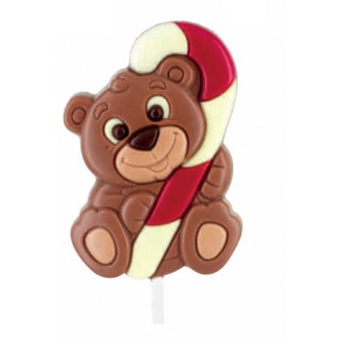 lecca cioccolato Orso Raphael Natale Belfine vendita online Le Mille e una Mella