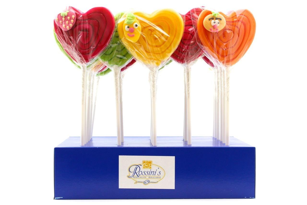 lecca lecca fruttino cuore San Valentino vendita online Le Mille e una Mella