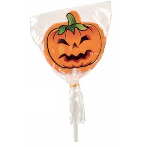 lecca lecca zucca Halloween con adesivo vendita online Le Mille e una Mella