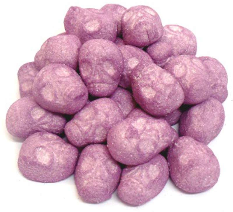 caramelle marshmallow teschi viola Halloween Bulgari vendita online