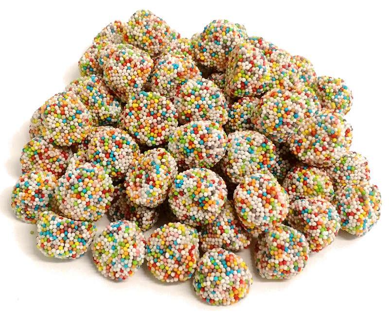caramelle gommose more granellate arcobaleno Fini vendita online