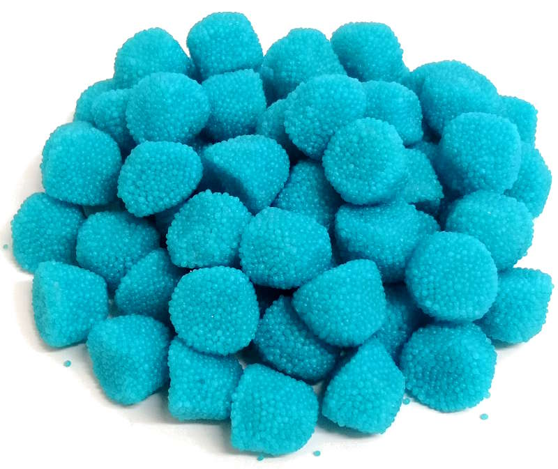 caramelle gommose more granellate azzurre Fini vendita online