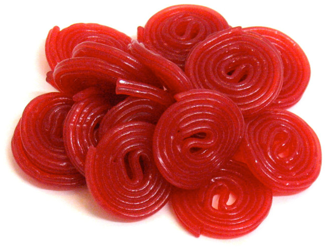 ROTELLE ROSSE HARIBO