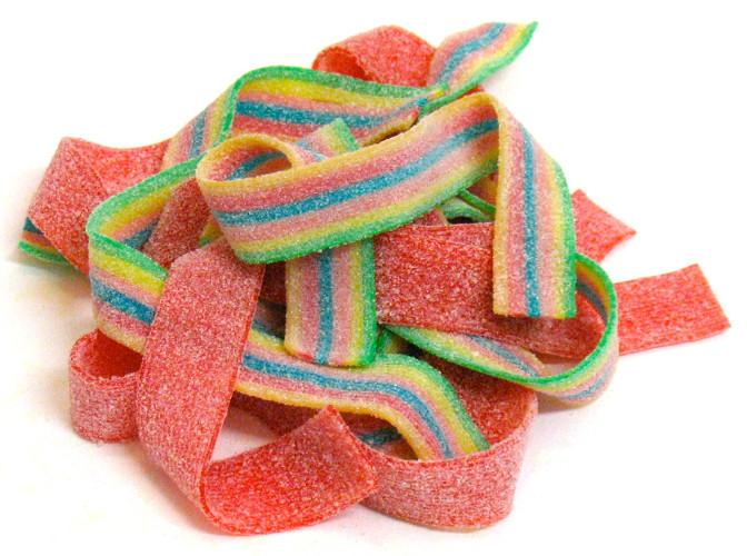 caramelle gommose cinture strisce frizz Fini vendita online