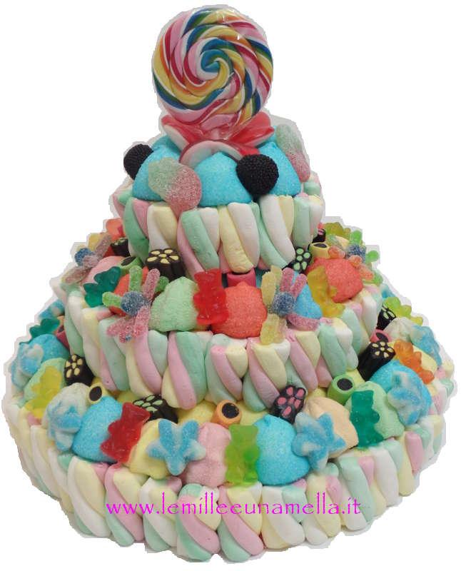 Vendita torte di caramelle online le mille e una mella for Designer di piani di pavimenti online
