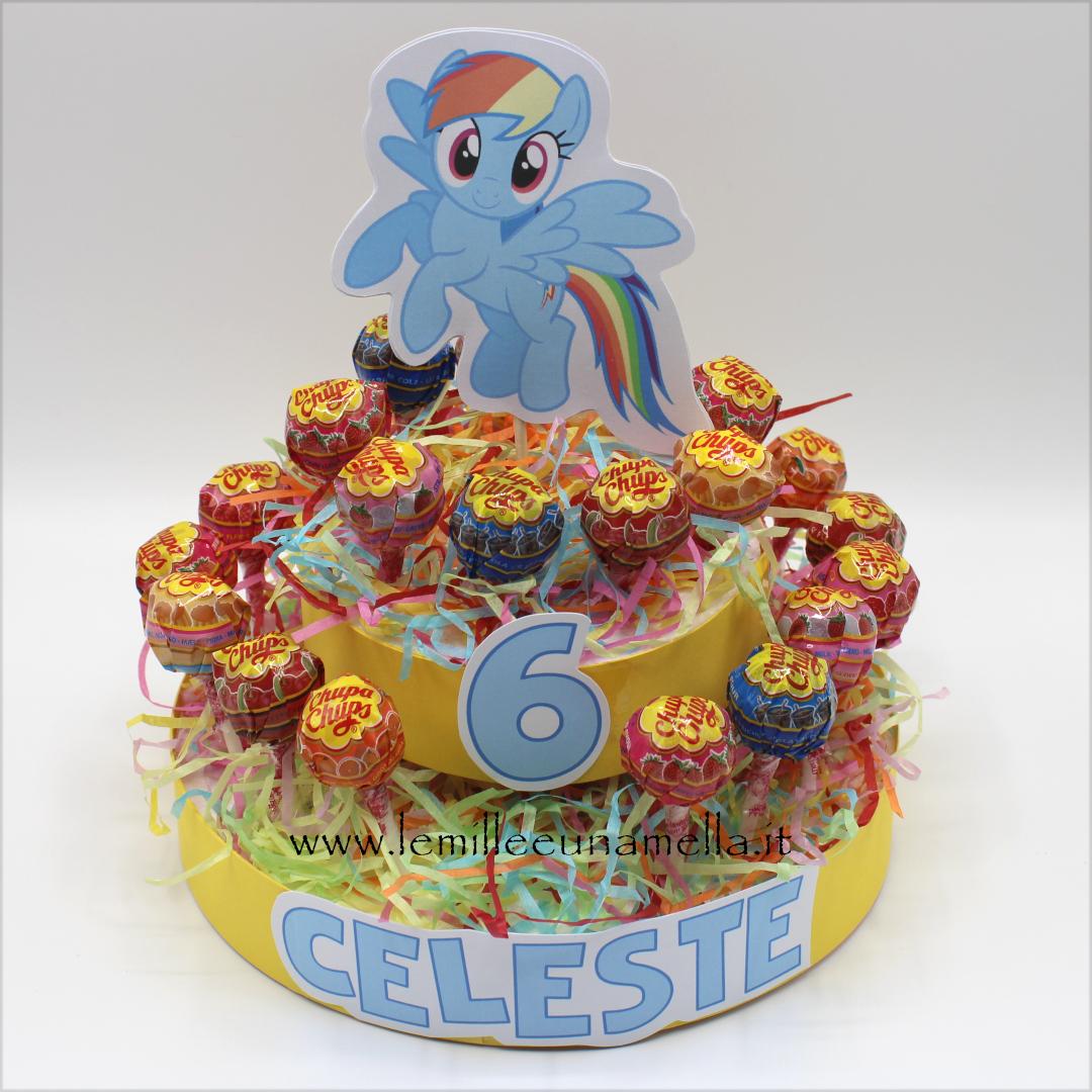 torta chupa chups My Little Pony vendita online Le Mille e una Mella