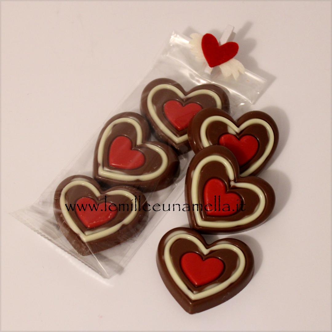 cuori cioccolato San Valentino vendita online Le Mille e una Mella