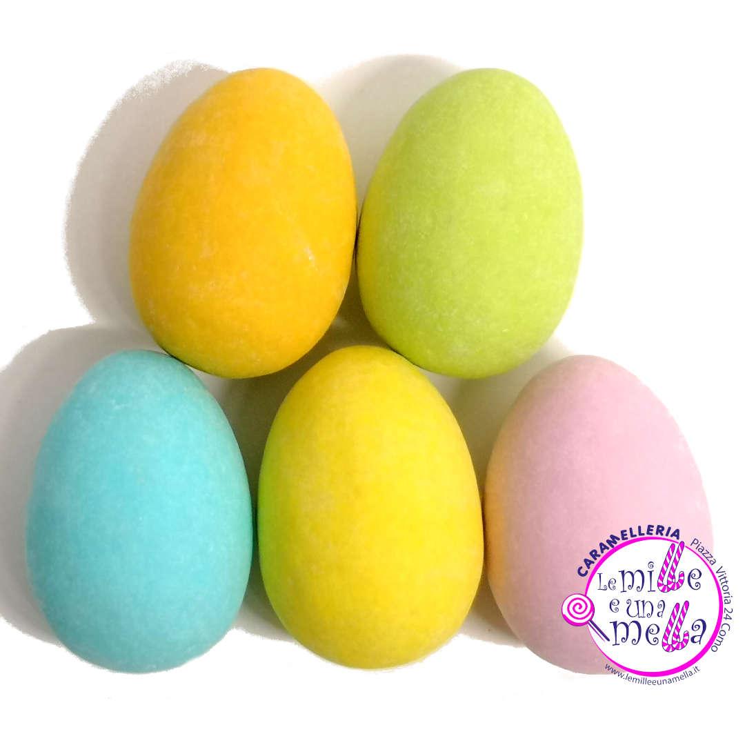 uova confettate cioccolato fondente Buratti Pasqua vendita online Le Mille e una Mella